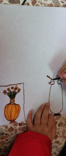 得力(deli) 7067 绚丽多彩可洗水彩笔/绘画笔 24色/筒 包装颜色随机 晒单图