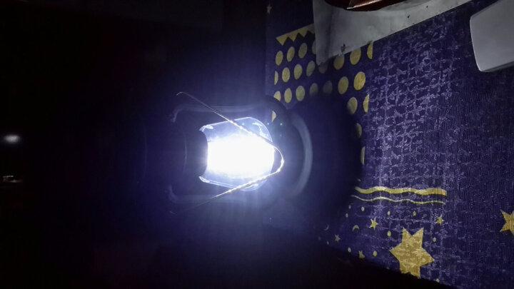翰光(HANGUANG) 复古家用马灯充电手摇露营灯LED太阳能手提帐篷吊灯户外营地灯 黑色-16颗LED灯珠 晒单图