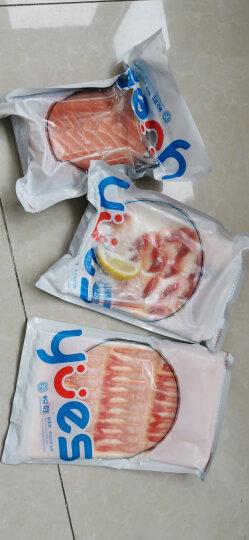 深悦胜 三文鱼刺身拼盘 挪威冰鲜三文鱼刺身套餐 三文鱼 中段 生鱼片即食 健康轻食 开袋即食 晒单图