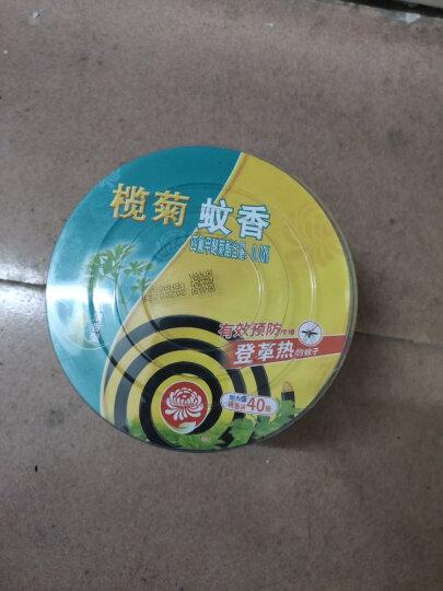 榄菊 大盘无烟型蚊香40单圈+蚊香座 儿童适用蚊香桶驱蚊盘香 晒单图