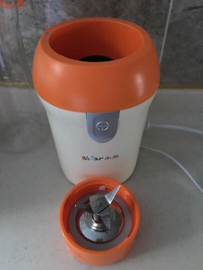 小熊(Bear)榨汁机随行杯搅拌机家用便携式多功能搅拌奶昔婴儿辅食果汁机LLJ-D05J1 晒单图