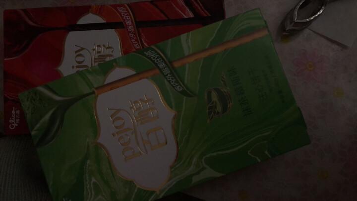 格力高(Glico) 百醇 注心巧克力饼干棒 早餐休闲零食抹茶草莓红酒蛋糕 芝士蛋糕味 48g 晒单图