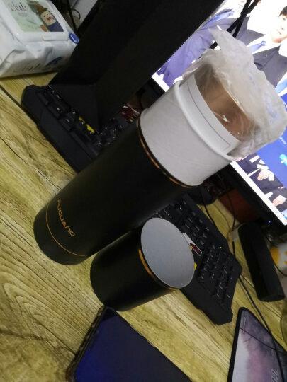 富光 荣耀系列保温杯 316不锈钢真空学生水杯保温壶 男女商务车载茶杯带滤网杯子圆筒礼盒装480ML金色 晒单图