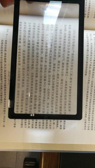 肯高KENKO 手持便携卡片式放大镜KTL-014书签式老人阅读2.5倍 晒单图