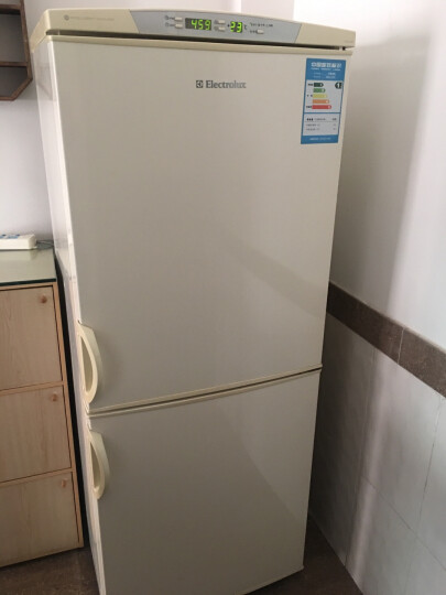 伊莱克斯(Electrolux) EBE251GGA冰箱 251升两门冰箱 风冷无霜 家用电冰箱 EBE2502GD 晒单图