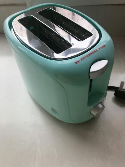北欧欧慕(nathome)烤面包机 三明治机多士炉家用小型多功能全自动早餐机迷你吐司机加热 NDS3019 晒单图