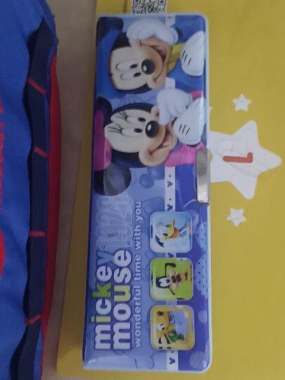 迪士尼(Disney)文具套装7件套 小学生文具礼盒 儿童开学文具礼包 生日礼物学习奖品 米奇系列 蓝色 DM6049-5A 晒单图