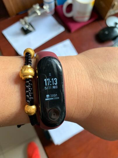 小米(MI) 手环3代4代通用多彩腕带运动手环替换防水腕带 原装手环+非原装腕带+定制(联系在线客服) 晒单图