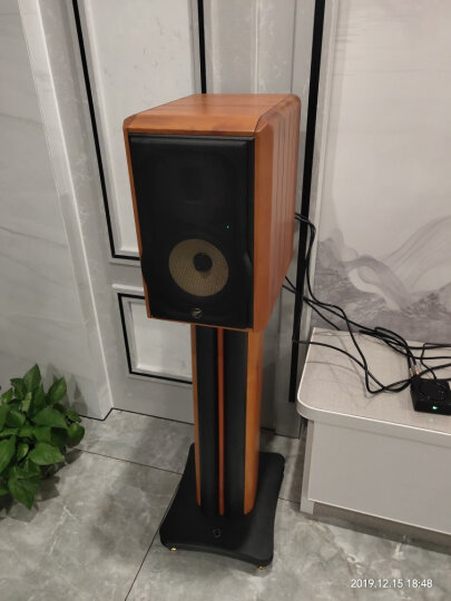 惠威(HiVi)M Stand 发烧音箱脚架 原木装饰 晒单图