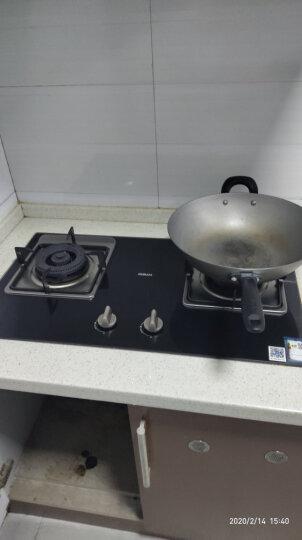 老板(Robam)燃气灶 嵌入式灶具 家用双灶具嵌可用天然气 聚中劲火(天然气)JZT-33B7 晒单图