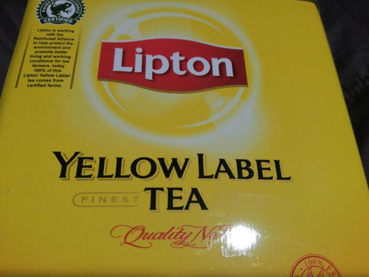 立顿Lipton小黄罐装红茶粉 斯里兰卡进口奶茶店黄牌精选红茶500g 晒单图