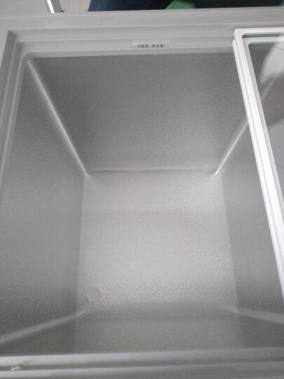 美的(Midea)220升 家用商用冰柜 双箱双温冷柜 蝶形门侧掀门 冷藏冷冻卧式冰箱 BCD-220VM(E) 晒单图