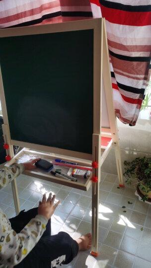 七巧板儿童画板黑板家用画架小黑板升降双面磁性画画写字板绘画套装实木白板六一儿童节礼物 136cm画板(送58元+28元升级礼包) 晒单图