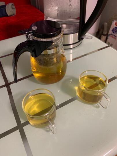 金灶(KAMJOVE) K-106耐热玻璃小茶杯 花茶杯 办公水杯茶杯茶具套装 四只装 晒单图