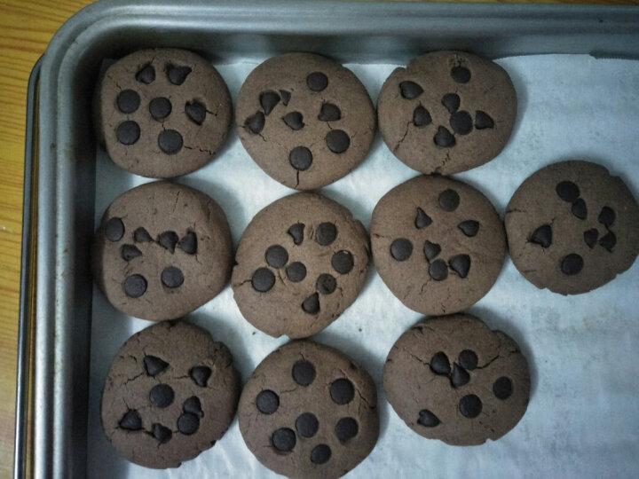 展艺耐高温黑巧克力豆100g *2 曲奇饼干面包烘焙原料(代可可脂) 晒单图