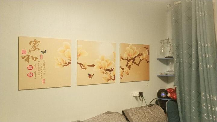 好久不见 客厅装饰画现代三联画挂画餐厅卧室玄关无框画 简约沙发背景墙壁画800 地中海 50*50 整套价格 晒单图