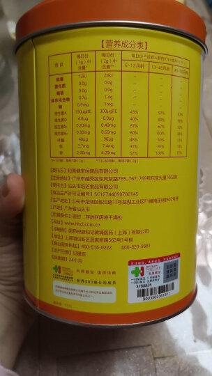 智灵通乳酸钙冲剂罐装培育系列 40包(0岁以上适用) 晒单图
