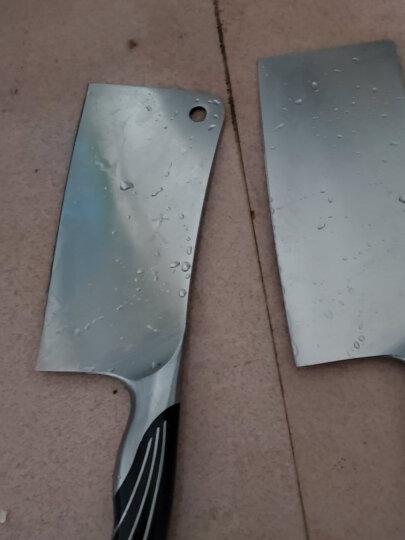十八子作 切菜刀套装双刀 厨房刀具套装组合切片刀砍斩骨刀阳江十八子菜刀SL1210-A/B 晒单图