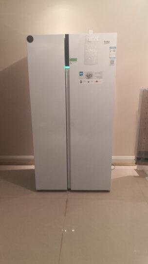 倍科(BEKO) 581升欧洲原装进口对开门冰箱 变频节能 触摸屏 风冷无霜纤薄款 超薄机身双开门 实体店款 GN163120ZIW白色  原装进口变频 晒单图
