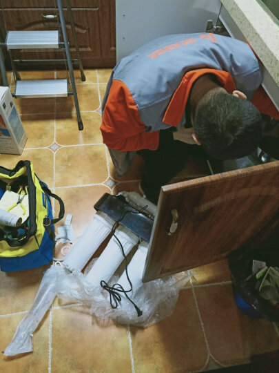 希力净水器 家用 直饮厨房智能净水机ro反渗透纯水机过滤器DZ11 智能款 晒单图