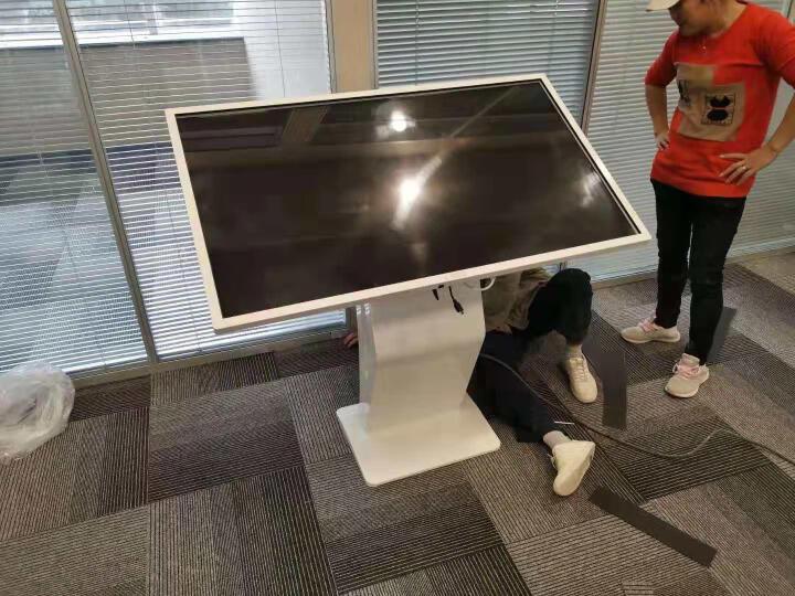 互视达(HUSHIDA)卧式触摸一体机自助查询机智能广告机触控屏商用显示器 55英寸 windows中配i3触控 晒单图