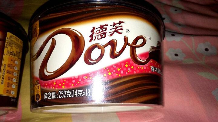 德芙 Dove巧克力分享碗装 新年春节伴手礼丝滑牛奶巧克力 婚庆糖果员工福利 252g 晒单图