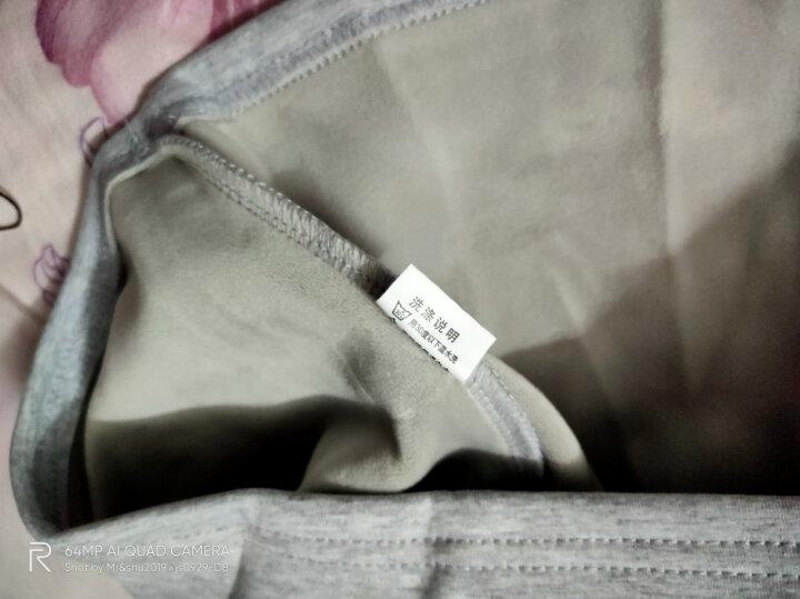 【正常发货】南极人长袖T恤男春季新品翻领纯色男士衣服POLO衫男装打底衫上衣 T102藏青常规 175/XL 晒单图