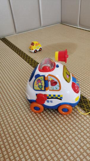 伟易达(VTech)神奇轨道车消防车儿童玩具男孩玩具声光音乐宝宝手推滑行小车遥控电动儿童礼物 晒单图