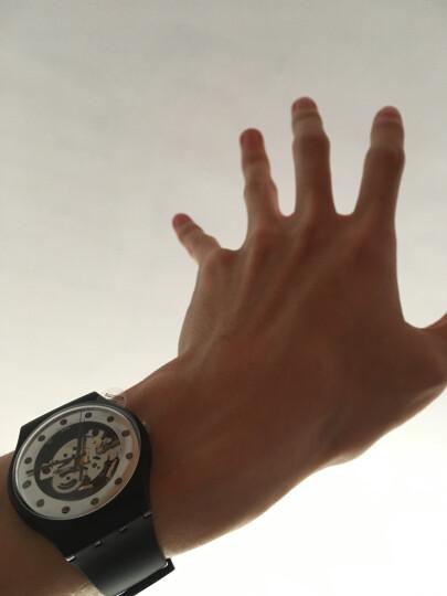 斯沃琪(Swatch)瑞士手表 原创系列 圣诞银魅 简约 石英 学生情侣男女表SUOZ147 晒单图