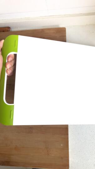 乐扣乐扣(lock&lock)抗菌砧板(中)把手型CSC543绿色 晒单图