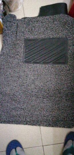 恒卡 丝圈汽车脚垫 耐磨专车专用7座车 黑灰色 下单请留言备注车型年份 厂家订制直发 晒单图