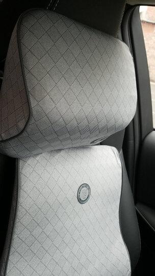 吉吉(GiGi)汽车腰靠 靠枕 背靠垫 NE-006弹力乳胶棉腰垫 汽车用办公用腰枕 琥珀 晒单图