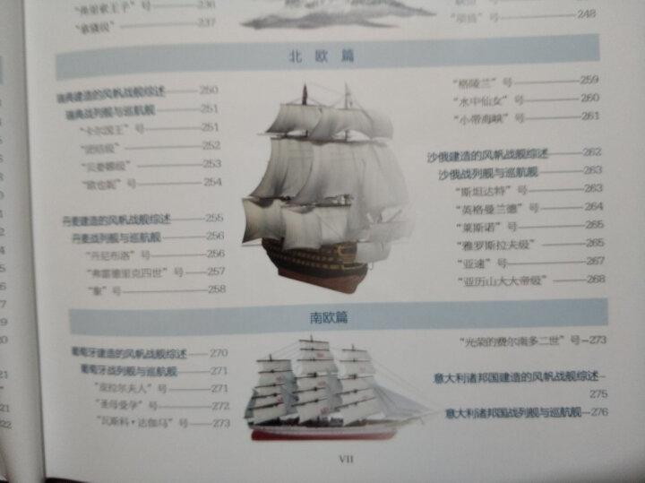美国海军现代主战舰艇图鉴 晒单图