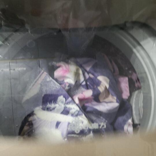【2件8.8折】居家爱家纺全棉磨毛四件套加厚保暖床品套件  双人被套纯棉被罩床单套件 .暮光-蓝灰 1.8和2米床通用四件套--适用220*240被子 晒单图