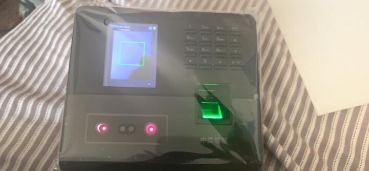 中控智慧(ZKTeco)UF100plus 人脸指纹考勤机 高速识别打卡机 自助报表 WIFI传输 晒单图