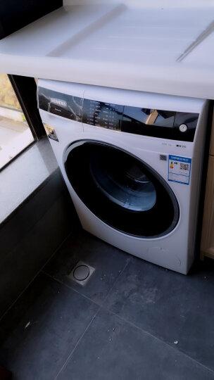 西门子(SIEMENS) 9公斤 变频滚筒洗衣机 智能除渍 降噪节能 除菌液程序(白色) XQG90-WM14U5C00W 晒单图