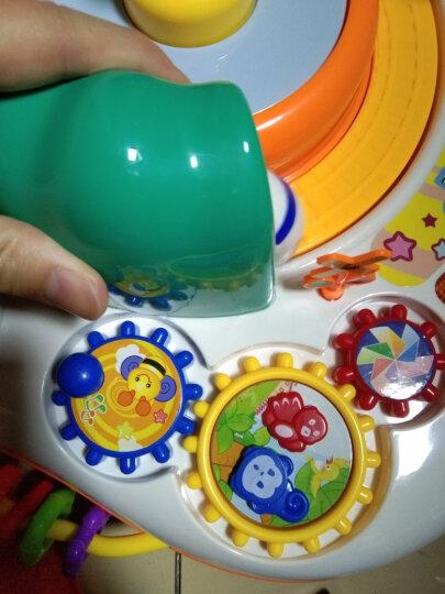 谷雨游戏桌婴儿玩具0-1岁幼儿宝宝多功能早教学习桌儿童益智力开发音乐火车玩具台1-3岁2周岁小孩礼物 优惠套装1(谷雨游戏桌+谷雨声光手拍鼓) 晒单图