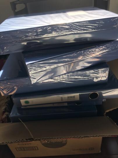 得力(deli)35mmA4塑料档案盒 资料文件收纳盒 财务凭证盒 办公用品5622 晒单图