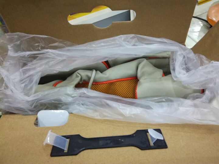 康恩寿 KES-822颈椎按摩披肩 腰背按摩器 822橘色 晒单图