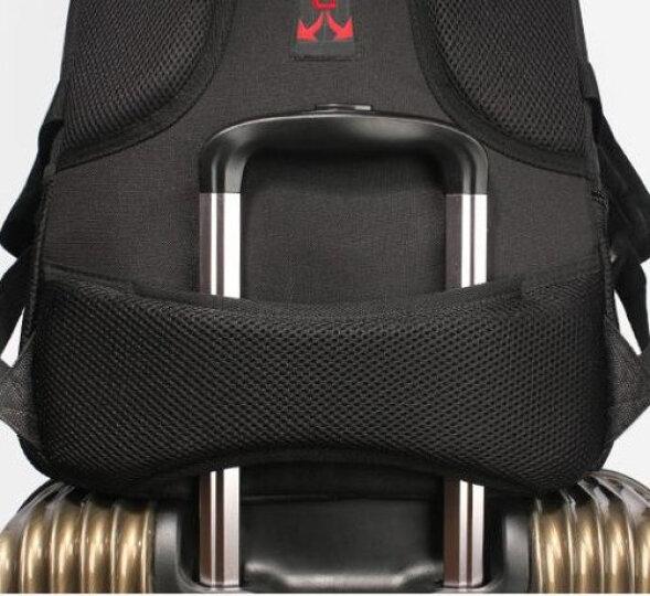 SWISSGEAR加密防盗双肩包防泼水商务苹果笔记本电脑包15.6英寸企业采购双肩背包书包SA-9393XL黑色 晒单图