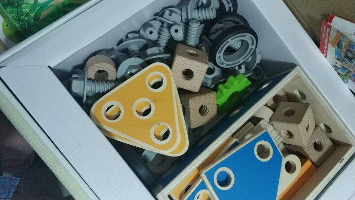 德国(Hape)我的工具盒拆装拼装积木玩具早教启蒙过家家益智玩具 3岁+ E3001 百变拼搭男孩女孩生日儿童节礼物 晒单图