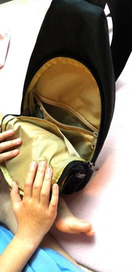 SWISSGEAR胸包 棉麻时尚胸包单肩斜挎包户外男女iPadmini包 SA-9859灰色 晒单图