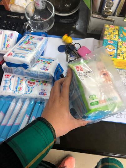 gb好孩子 婴儿湿巾 儿童宝宝婴幼儿 小包便携亲肤温和 海洋水润湿巾10片*10包+木糖醇口手湿纸巾10片(便携装) 晒单图