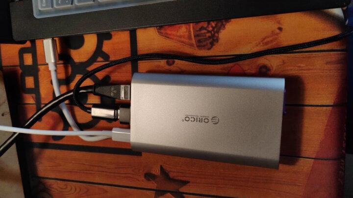 奥睿科(ORICO)Type-c扩展坞USB-C转HDMI/VGA/RJ45/PD/3.0分线器苹果笔记本拓展坞集线器手机投屏转换器ADS2 晒单图