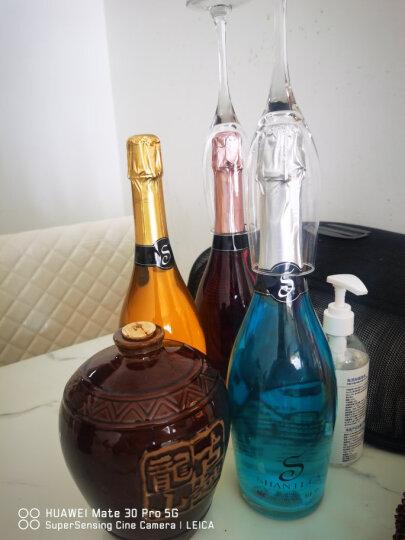 【配2香槟杯】缤飞蝶魔幻云星空酒起泡葡萄酒红酒4支组合装火焰酒女士钟爱的配制甜气泡果酒 4*750ml 晒单图