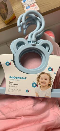世纪宝贝(babyhood)围兜 婴儿围嘴宝宝饭兜儿童小孩吃饭口水巾 仿硅胶防水 蓝色 BH-401 晒单图