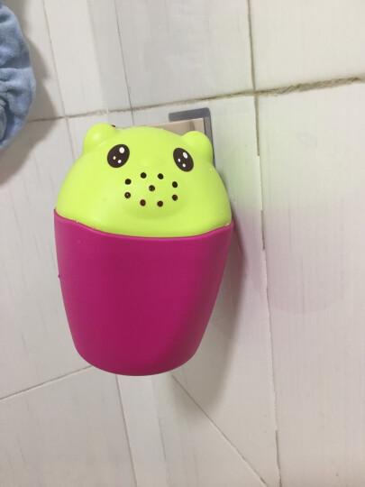 世纪宝贝(babyhood)儿童洗头帽宝宝婴儿用品洗头神器小孩洗澡防水帽 玫红色 BH-705 晒单图