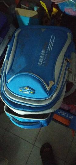 耐拓小学生书包 男童双肩儿童书包1-3-6年级背包6-12周岁书包 N822蓝色 大号3-6年级 晒单图