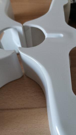桑普板式电暖器油汀电暖气脚支架含脚轮配件一套底脚轮子原厂薄板支脚油丁一套取暖器电暖气 1个轮子 晒单图