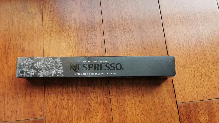 Nespresso 雀巢咖啡胶囊10粒装 奈斯派索胶囊咖啡机适用 咖啡豆研磨咖啡粉 F12大杯-馥缇奇欧 晒单图